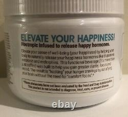 #1 Authentic Elevate Smart Happy Coffee Tub 30 Elevacity 10/2021 Best By