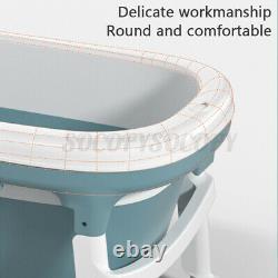 138cm Large Portable Bathtub Bath Home Barrel Adult Kids Sauna Spa Water Body