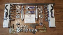 1979-2004 Mustang Rear Coilover Kit Viking Mini-Tub Double Adjustable WELD IN