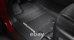 2016-2021 Toyota 4Runner Tub Style All Weather Mats PT908-89160-02 OEM