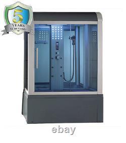 59 Eagle Bath WS-501 STEAM SHOWER ENCLOSURE withWHIRLPOOL (110v ETL Certified)
