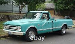 67 72 Chevy Inner Wheel Tub Set In Bed, GMC Truck 0849-325