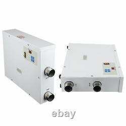 9KW 220V Digital Swimming Pool & SPA Electric Water Heater Thermostat Hot Tub