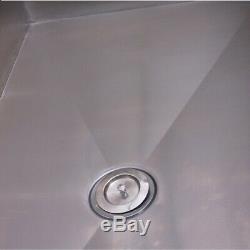 AEOLUS Stainless Steel Bath Tub Small Dog Pet Grooming