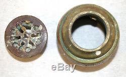 Antique Freestanding Tower Waste Drain Parts Bathroom Plumbing Bath Tub Brass