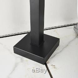 Artiqua Freestanding Bathtub Faucet Tub Filler Black Floor Mount Hand Shower 1