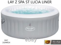 BRAND NEW 2021 Bestway Lay Z Spa ST LUCIA Airjet Liner / Tub NO HEATER OR LID