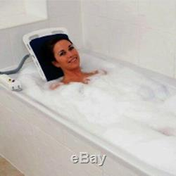 Bellavita Auto Bath Lifter Tub Lift White Tool Free Assembly