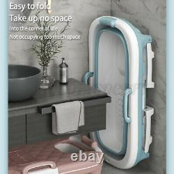 Bocarly 4 in 1 Folding Adult Bathtub Portable Home Bath Tub Sauna SPA Massage