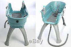 Booster Bath Large Pet Dog Grooming Washing Tub Groomer Wash Elevated Lilac