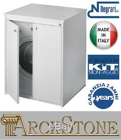 Closet Mobile Cover Protect Hide Washing Machine Wash-Tub Negrari Wave Kit