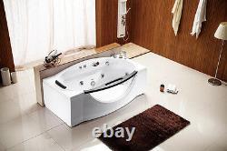 Computerized Hydrotherapy Soaking Jetted Massage Bathtub Bath Tub Whirlpool SPA