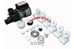 Conversion assembly kit BATHTUB to WHIRLPOOL JETTED TUB complete contractor kit