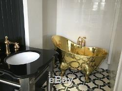 Copper Bathtub MADE TO MEASURE Little Dragon