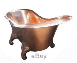 Copper Bathtub Puff The Dragon Hand Made Package Deal