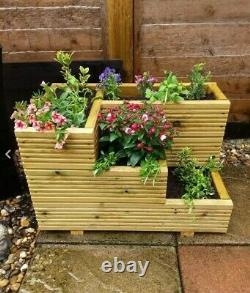 Deluxe Decking Planter 3 Tier Handmade High Quality