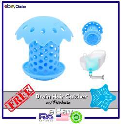 Drain Hair Catcher Tub Drain Protector Shower Drain Filter Tub & Shower