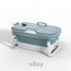 Folding Bathtub Adult Portable Children Tub Household Bath Basin
