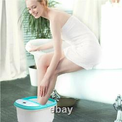 Foot Spa Bath Massager with Heat Feet Soaking Tub Features 6 Pressure Node