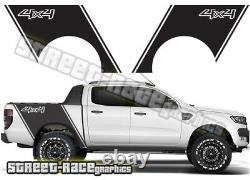 Ford F-150 bed bands 015 tub decals stickers graphics off-road 4x4 ranger