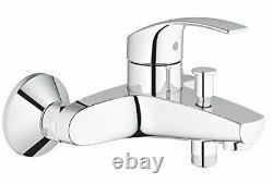 GROHE Eurosmart Bathroom Shower tub mixer tap, Wall mount, chrome with eschouten