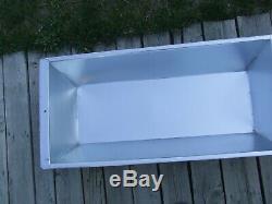 Galvanized sink rectangular farmhouse sink Farm galvanized Tub Laudry Basin zinc