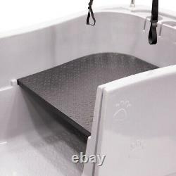Groom Professional Amazon Pet Grooming Bath Tub Paw Print Design with Ramp