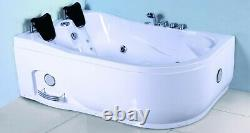 Indoor Computerized 2 Person Hydrotherapy Whirlpool Jetted Massage Bathtub SPA