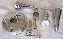 Kohler Revival Polished Chrome & Brass Tub Bath Shower Faucet T16115-4a-cb Valve