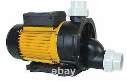 LX TDA200 Single Speed Pump 2Hp Hot Tub Spa Tubs Whirlpool Bath 1.5 Union Pumps
