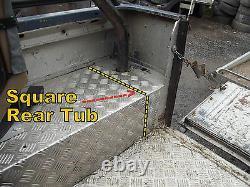 Land Rover Defender 90 Rear Tub Mud Shield Outrigger Shield GL1019 + MUC9220