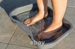 Lay-Z-Spa Heavy Duty Non Slip Foot Bath Tray Accessory For Hot Tubs Spa Pools