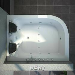 Luxury NEW Whirlpool Bath Tub Massage SPA Jacuzzi Jets 2 Person Left Facing UK