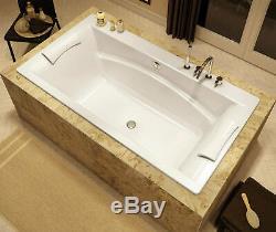 MAAX OPTIK 66 x 36 C ACRYLIC DROP-IN OR UNDERMOUNT BATHTUB OPTIONAL WHIRLPOOL