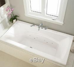 NEPTUNE BELIEVE MODERN 66x36 SQUARE BATH TUB SOAKER (NO WHIRLPOOL)