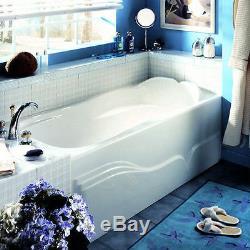 NEPTUNE DAPHNE 60x32 ACRYLIC RECTANGLE BATH TUB SOAKER APRON (NO WHIRLPOOL)