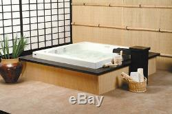 NEPTUNE TOKYO 60x60 JAPANESE-STYLE SQUARE BATH TUB WITH WHIRLPOOL SYSTEM