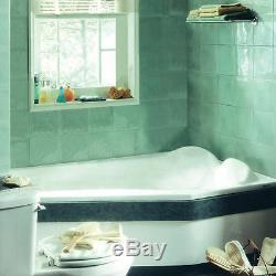 NEPTUNE VENUS 60x42 CONTEMPORARY CORNER BATH TUB SOAKER (NO WHIRLPOOL)