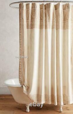 NEW Anthropologie Misona Shower Curtain