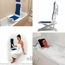 NEW Bellavita Automatic Bath Tub Lift Folding Back Drive Medical 477200252 New