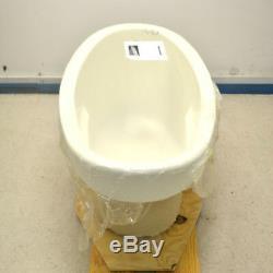 NEW Jetta E15-6528NJ Advantage Biscuit Compact Self-Rimming Oval Bath Tub