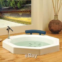 Neptune Nagano 40 Round Japanese-style Round Bath Tub With Whirlpool System