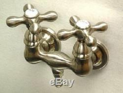 New Clawfoot Tub Faucet Satin Nickel CC37T8