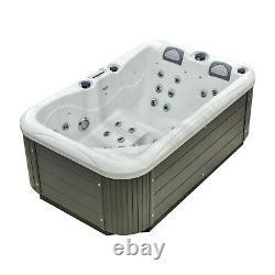 New Palm Spas Dual Lounger+ Luxury Hot Tub Spa 3 Seat In Stock Balboa 13amp Plug