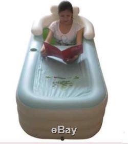 Outdoor Inflatable Adult Bath Bathtub Portable Foldable Bathroom Indoor Hot Tub