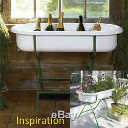 PORCELAIN Enamel baby bath tub, laudry basin, farmhouse sink, wash stand