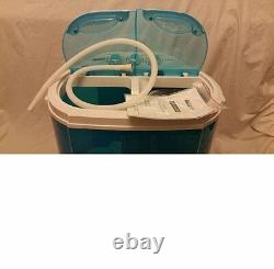 Portable 230v Mini Twin Tub Washing Machine For Caravan Motorhomes Spin Dryer