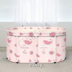 Portable Bathtub Water Tub Folding Adult Spa Bath Bucket Indoor Home Bath Barrel