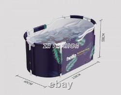Portable Bathtub Water Tub Folding PVC Adult Rectangle Spa Bath Bucket Indoor