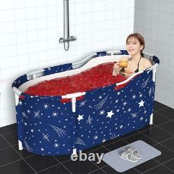 Portable Bathtub Water Tub Folding PVC Adult Spa Bath Bucket Indoor Home DHL